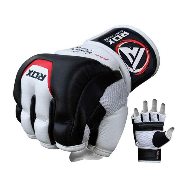 GGL-T3W-L RDX T3 MMA Gel Padded Combat Grappling Gloves, Large 2