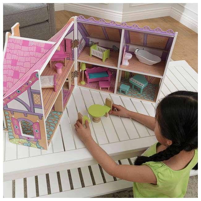 KDK-65930 KidKraft Enchanted Forest Wooden Dollhouse 6