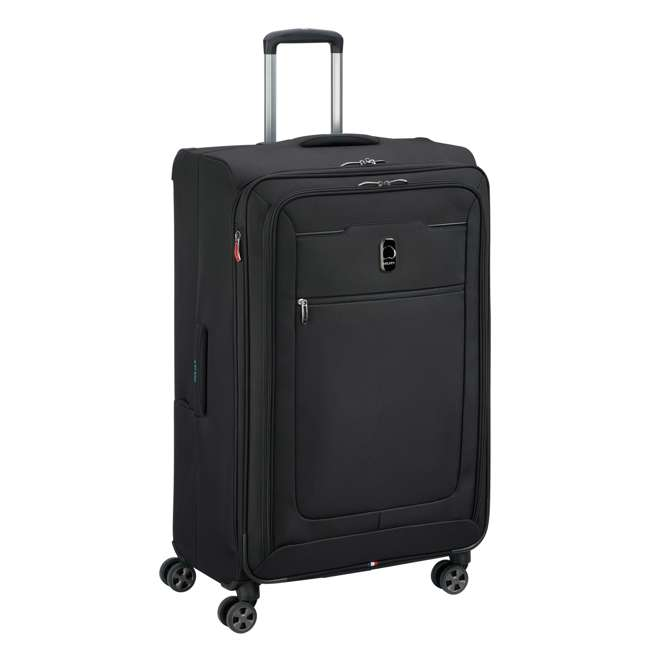 "40229183000 DELSEY Paris 29"" Expandable Spinner Upright Hyperglide Luggage Suitcase, Black 1"