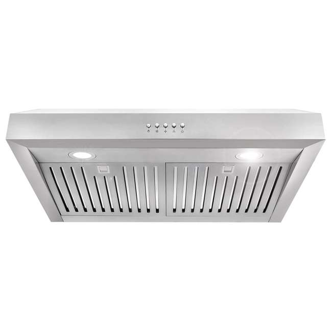 CSMO-UC30 Cosmo UC30 30-Inch Under-Cabinet Range Hood and Over Stove Vent Light, Silver
