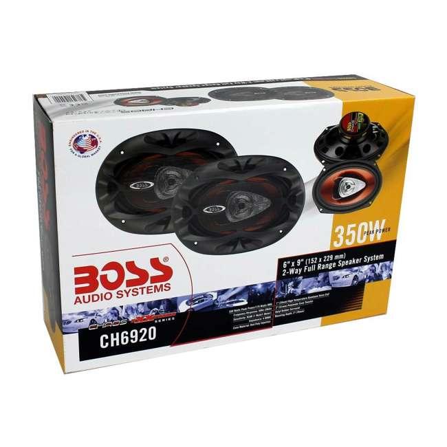 CH6920 Boss 6x9-Inch 2-Way 700 Watt Speakers (Pair)   CH6920  6