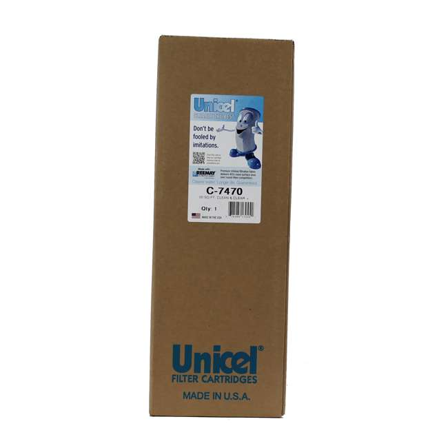 C7470 Unicel C-7470 Replacement Pool Filter 2