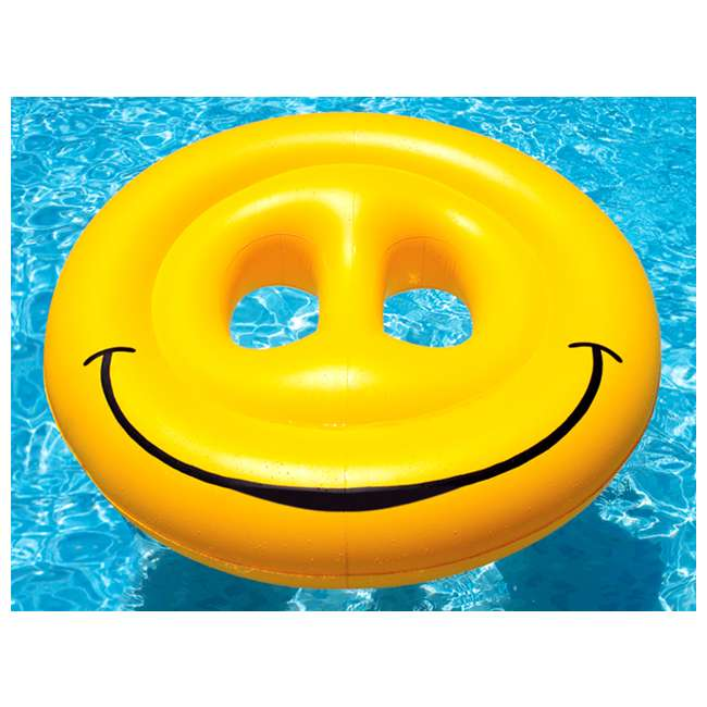 9053 Swimline Smiley Face Island Lounger | 9053