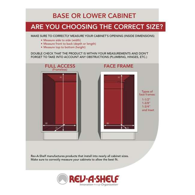 6942-28-11-52 Rev-A-Shelf 6942-28-11-52 28 Inch White Polymer Pie Cut 2 Shelf Lazy Susans 6