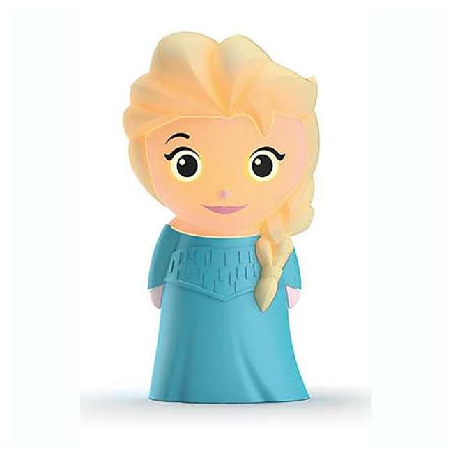 PLC-799965 + PLC-7176803U0 Philips Disney Frozen Olaf and Elsa Kids Soft Pals Nightlight Friend 7