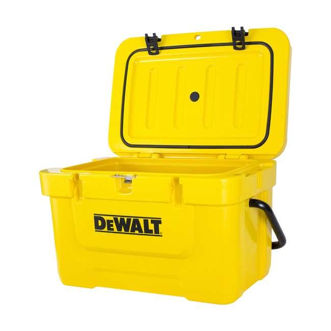 DXC25QT DeWalt 25-Quart Insulated Lunch Box Portable Cooler, Yellow 4