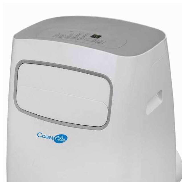 CEP-081A Coast Air CEP-081A 8000 BTUs Portable Wheeled Air Conditioner Floor Unit, White 4