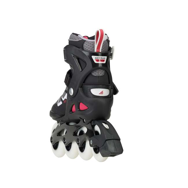 077341009V1-8 Rollerblade USA Macroblade 90 Women's Adult Fitness Inline Skates Size 8, Red 4