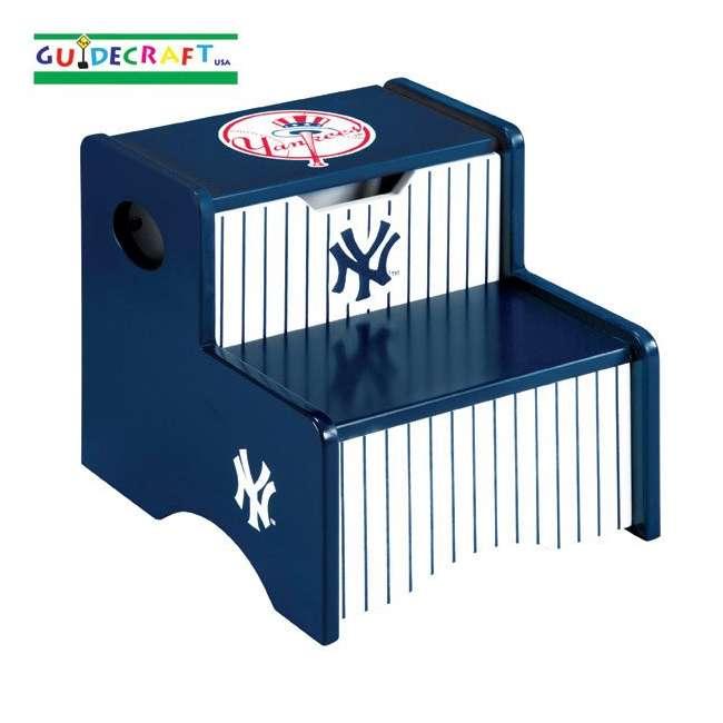 G11213 Guidecraft Yankees Storage Step Up