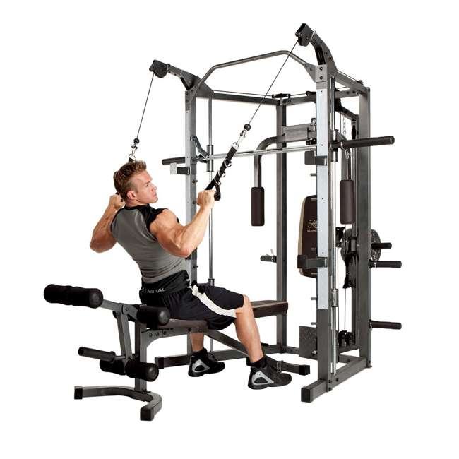 SM-4008 Marcy Combo Smith Strength Home Gym Machine 2