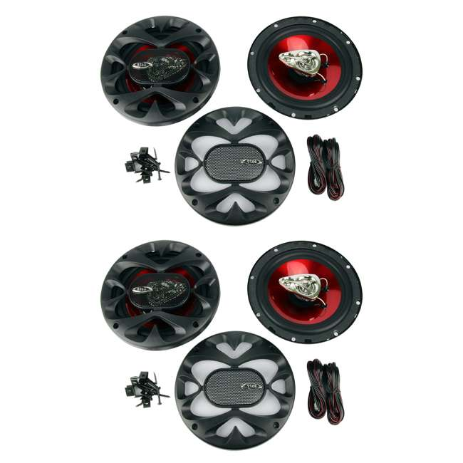 CH6530 Boss CH6530 6.5-Inch 3-Way 600W Speakers (2 Pairs)