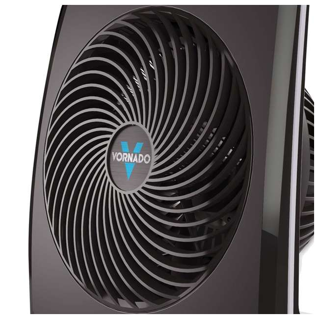 VOR-673-U-B Vornado Portable Medium Quiet Control Flat Panel Air Circulator Floor Fan (Used) 3