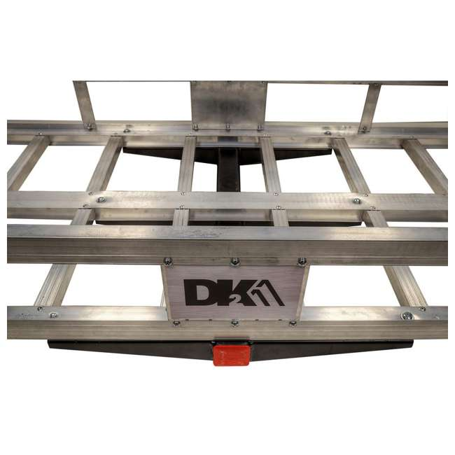 HCC502A Detail K2 HCC502A 500 Pound Trailer Hitch Mounted Aluminum Cargo Carrier Rack 7