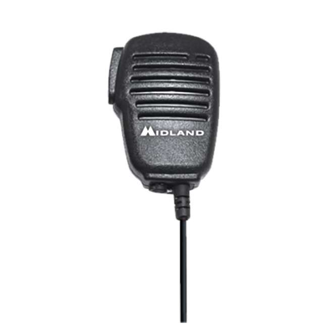 BA4 Midland Biztalk BA4 Speaker Mic for BR200 UHF Business Radio (2 Pack) 3