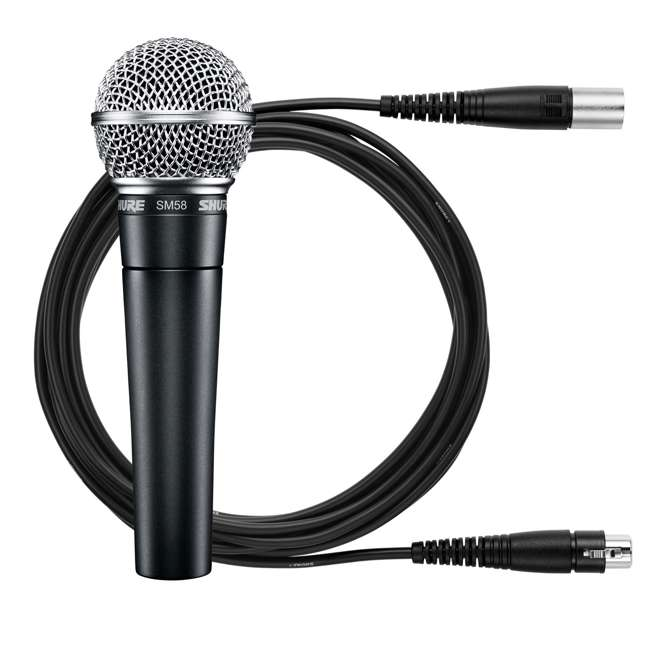 SM58-CN Shure SM58-CN Professional Vocal Microphone & Cable (2 Pack) 1