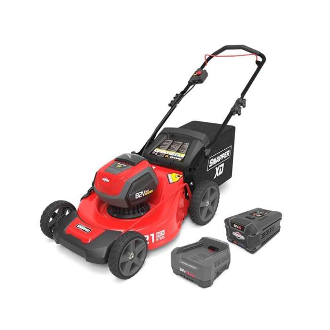 SNAP-1687884-OB Snapper XD 82-Volt 21-Inch Lawn Mower with Battery & Charger (Open Box)