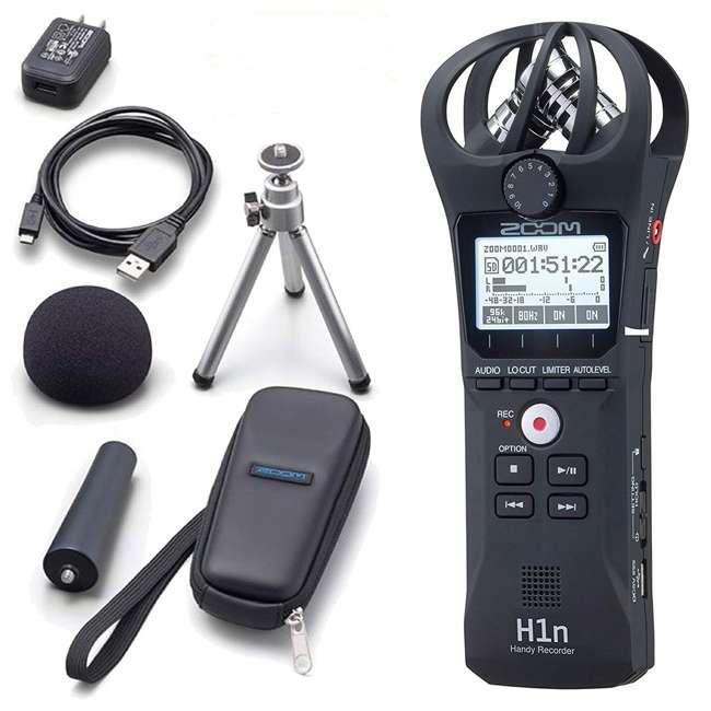 ZH1NAP + ZH1N Zoom H1 Handy Digital Recorder + Accessory Kit w/ Tripod & Case