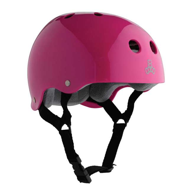 12 x T8-1285 Triple 8 Hardened Helmet with Sweatsaver Liner, X-Small (12 Pack) 4