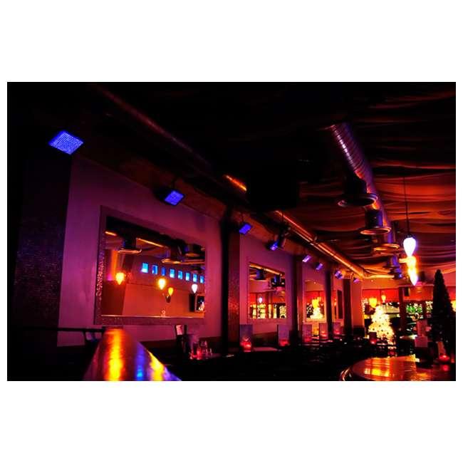3 x TFX-UVLED Chauvet LED Shadow TFX-UVLED 3 Channel UV Blacklight Panel Lights (3 Pack) 5