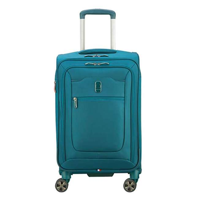 40229198732 DELSEY Paris 3 Sized Reliable Hyperglide Softside Travel Luggage Bag Set, Teal 1