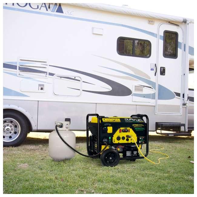 CPE-GN-76533 Champion 3800-Watt Portable RV-Ready Dual-Fuel Generator 3