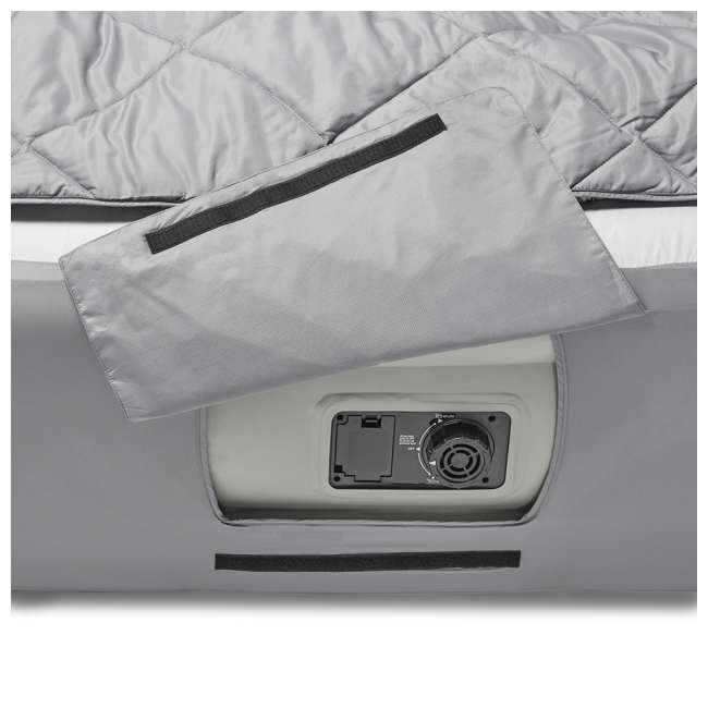TGT-BEDKIT-2 Tahoe Gear Queen Size Quilted Fitted Sheet Cover & Blanket for Air Mattresses 8