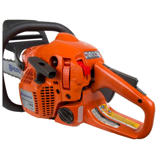 "440-18-BRC-AM-U-C Husqvarna 440 18"" 40.9cc 2.4hp 2 Cycle Gas Powered Chain Saw (For Parts) 1"