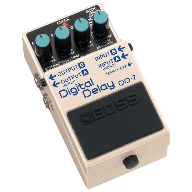 4 x DD-7 Boss DD-7 Digital Delay Effects Guitar and Bass Pedal (4 Pack) 1