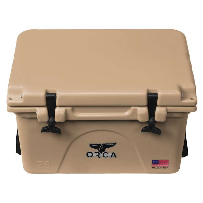 ORCT026 ORCA 26-Quart 6.5-Gallon Ice Cooler, Tan 1