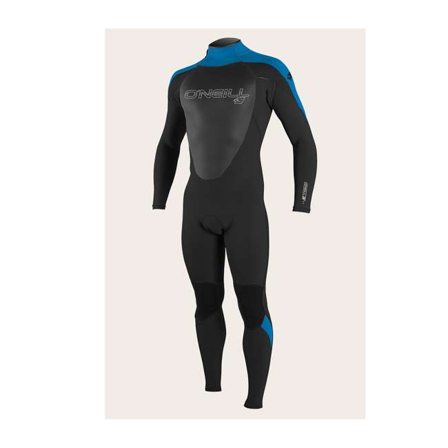 4212-AB3-M Epic 4/3 MM Thick Back Zip Full Body Wetsuit, Large