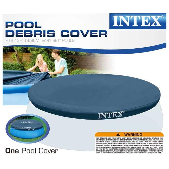 "6 x 28026E Intex 13' x 12"" Easy Set Pool Cover  (6 Pack) 5"