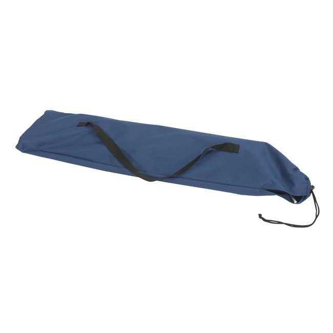 97938 Mountain Trails Base Camp Collapsible Cot & Carry Bag, Blue 1