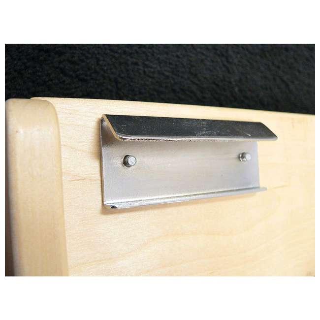 4ASR-15 Rev-A-Shelf 4ASR-15 Small Cabinet Door Mount Wood Adjustable 3-Shelf Spice Rack 3