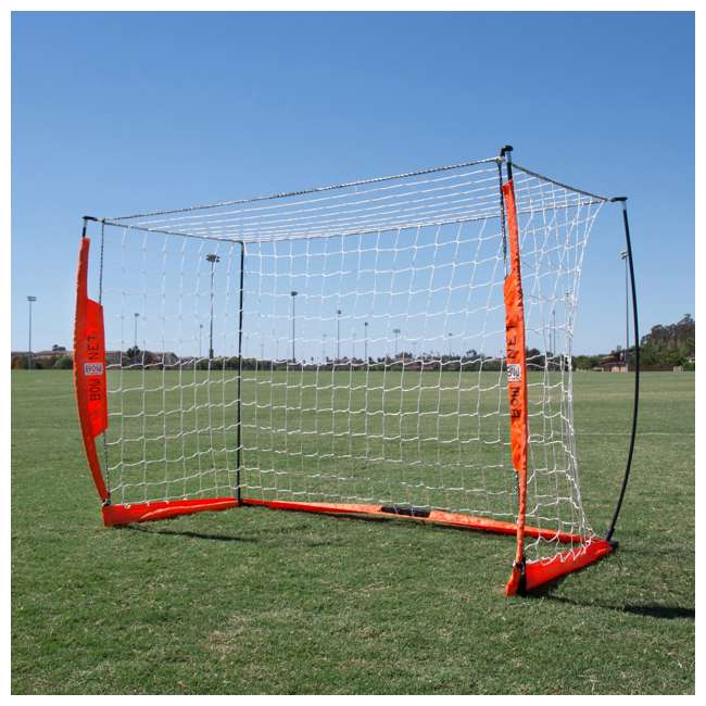 Bow4x6-U-B Bownet 4 Foot x 6 Foot Youth Training Practice Soccer Goal, Orange (Used) 4