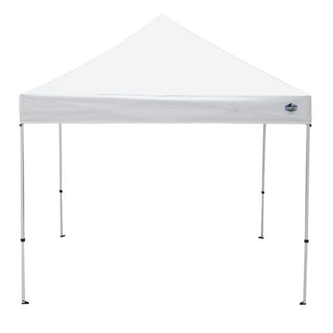 FSSHST10WH Z-Shade Venture 10 x 10 Foot Lawn, Garden & Event Outdoor Portable Canopy, White