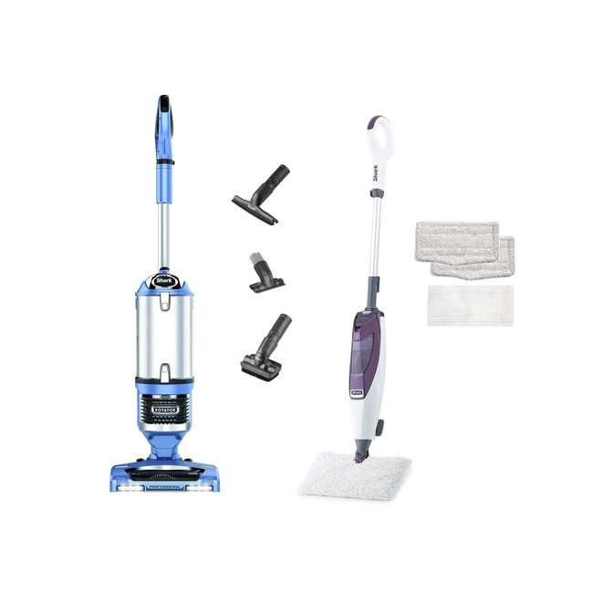 Shark NV642 Rotator Lift-Away + Shark Blast & Scrub Steam Pocket Mop