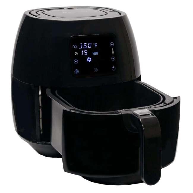 AB-AIRFRYER230B + 36-3501-W Avalon Bay Digital Display Healthy Air Fryer & Restaurant-Style French Fry Cutter 7