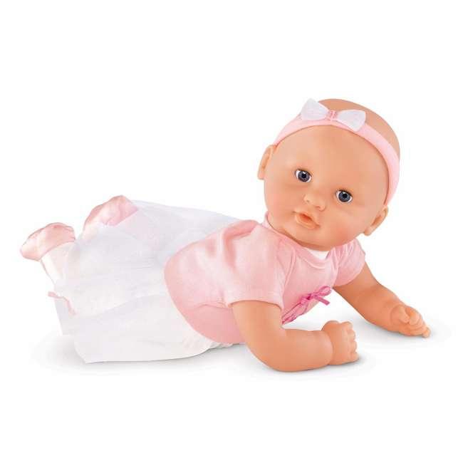 CJJ27 Corolle Mon Premier Bebe Calin Ballerina 12 Inch Vanilla Scented Baby Doll Toy 1
