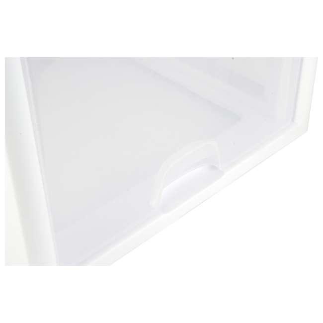 32 x 23108004 Sterilite 2310 27-Quart Single Stacking Drawer - Clear (32 Pack) 5