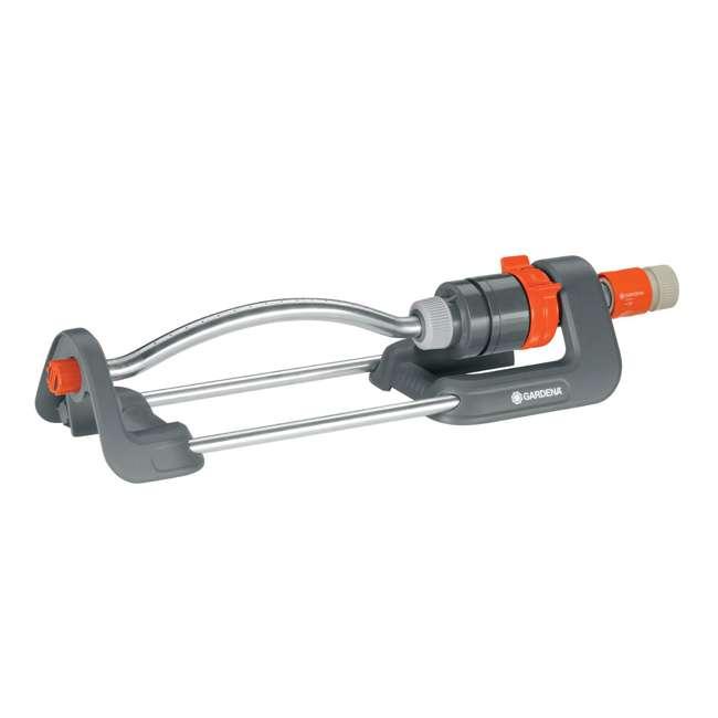 GARD-1980-U Gardena 1980 Polo Oscillating Sprinkler w/ Adjustable Spray Range