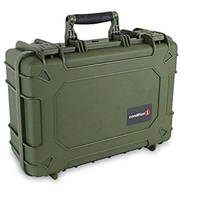 "H075GNF8542AC1 + H801GRF8539AC1 Condition 1 14"" Protective Carrying Case & Storage Case, Green 5"