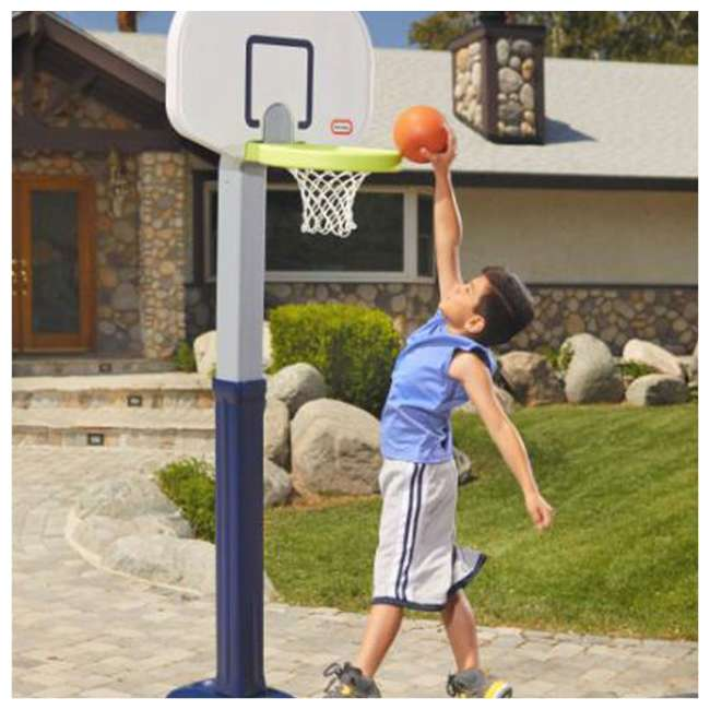 638206M Little Tikes Adjust 'n Jam Pro Basketball Hoop Toy  (2 Pack) 3