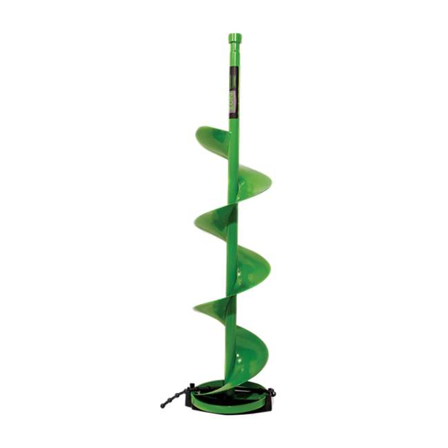 ION15280-U-B ION Ice Auger 8 Inch No Catch Ion Accessory for Ice Fishing Ice Drilling (Used)