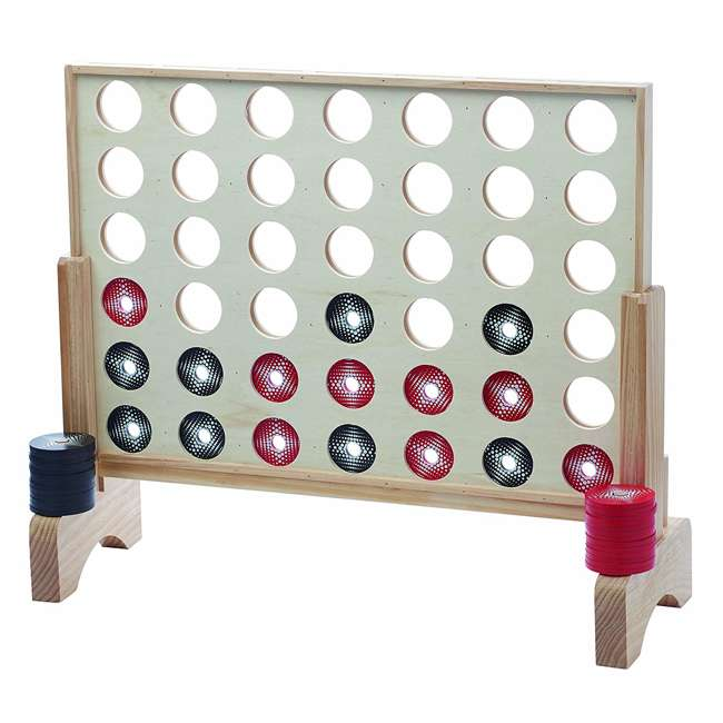 51202 Franklin Sports Jumbo Connect 4 Game Set