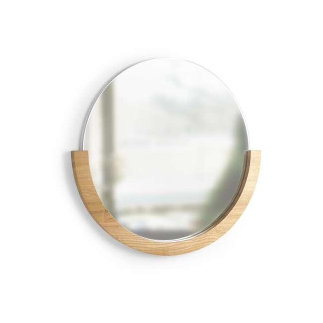 358778-390 Umbra Mira Mirror, Natural 1