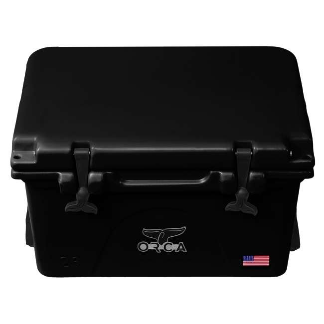 ORCBK/BK026 ORCA 26-Quart 6.5-Gallon Ice Cooler, Black 1