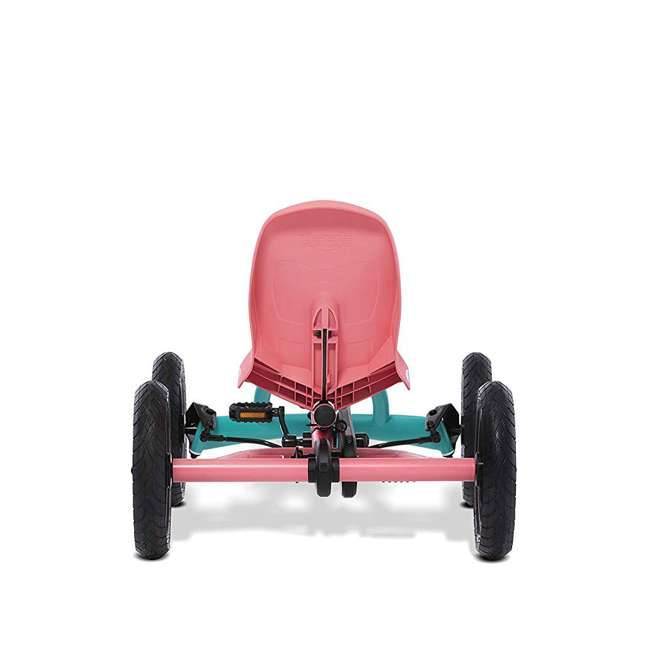 24.20.64.00 Berg Toys Buddy Lua Pedal Powered Kids Go Kart Toy, Pink and Mint 4