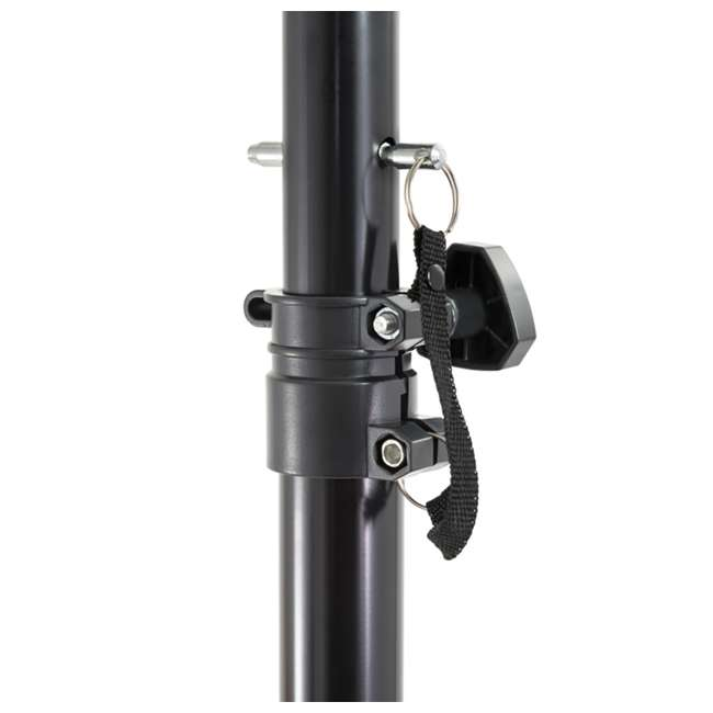 "AS-08P + ST-PACK Gemini AS-08P 8"" Active Powered PA Loudspeaker (2 Pack) with Tripod Stands & Bag 6"