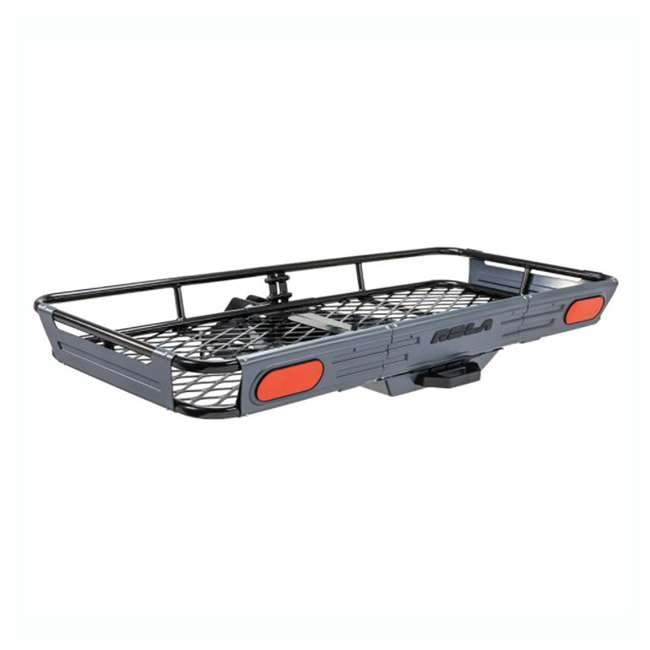 ROLA-59550-U-C ROLA Rear Mounting Basket Style Cargo Carrier for 450 lbs, Black (For Parts) 1