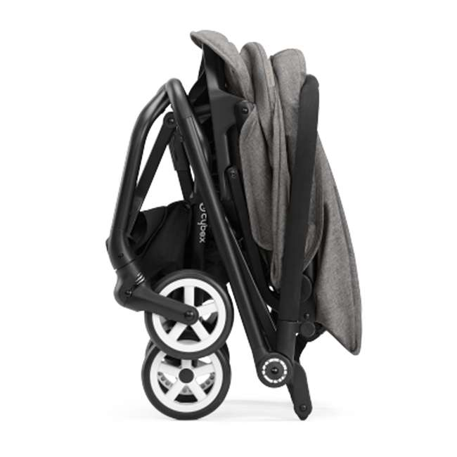 518001265 + 515103015 Cybex Eezy S Twist Stroller, Manhattan Grey & Aton 2  Car Seat 9